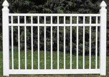 CLOSE PICKET PVC FENCE