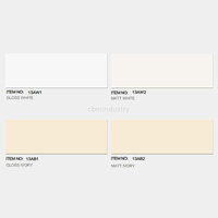 White and ivory color Linear range Subway tile 100*300mm